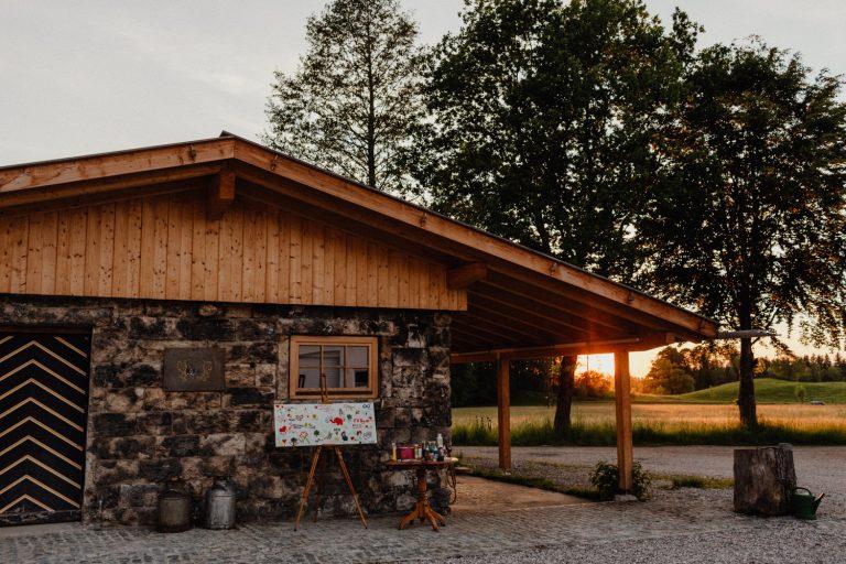 Hochzeit Alpen Ramsau Bad Heilbrunn