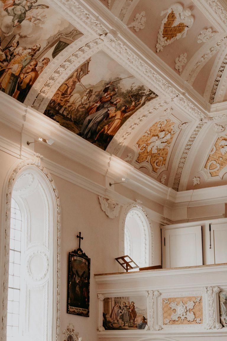 Details einer Kirche
